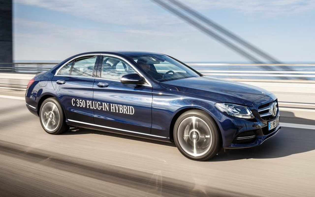 Debüt in Detroit: Mercedes-Benz C350e plug-in-Hybrid