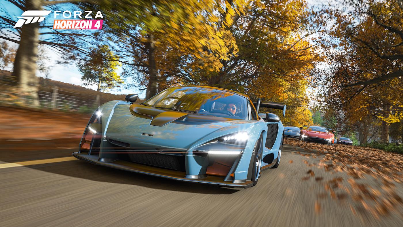 Forza Horizon 4 Senna Autumn