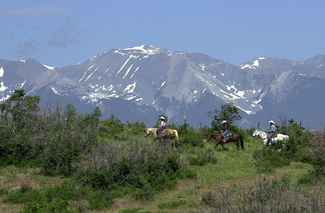 cowboys on maytag mountain ranch