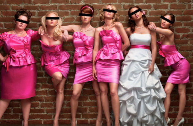 How to re-use a bridesmaid's dress