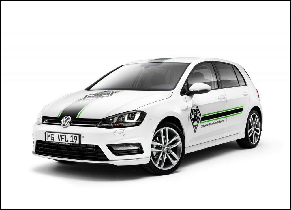 VW Golf, VW Golf Edition, VW Golf Editionsmodell, VW Golf Borussia Mönchengladbach, Borussia Mönchengladbach, VW news, VW Golf Sondermodell, VW Golf Edition Borussia Mönchengladbach