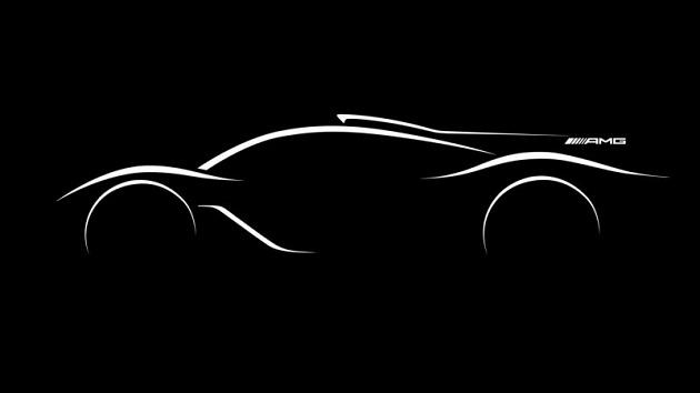 【パリモーターショー2016】メルセデスAMG、F1用エンジンを搭載した公道走行可能なハイパーカーを開発中