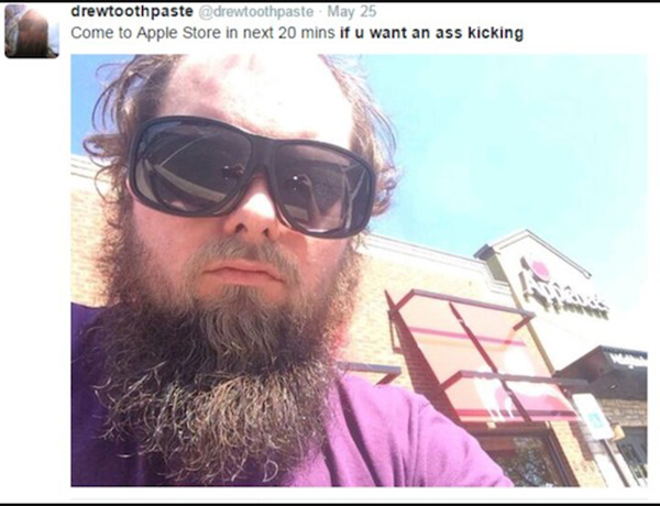 guy wants to kick your ass at different places