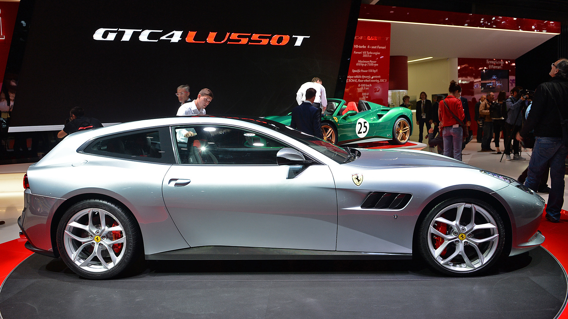 5 ways the turbo v8 ferrari gtc4 lusso t is better than the v12 autoblog. Black Bedroom Furniture Sets. Home Design Ideas