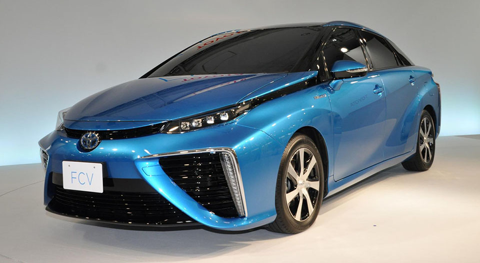 Toyota's hydrogen car gets a name and more US filling stations
