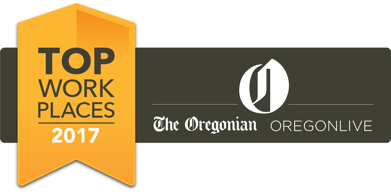 Graphic for the Oregonian's Top Workplaces 2017
