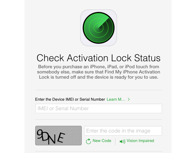 Apple launches tool to check Activation Lock status of an iOS device