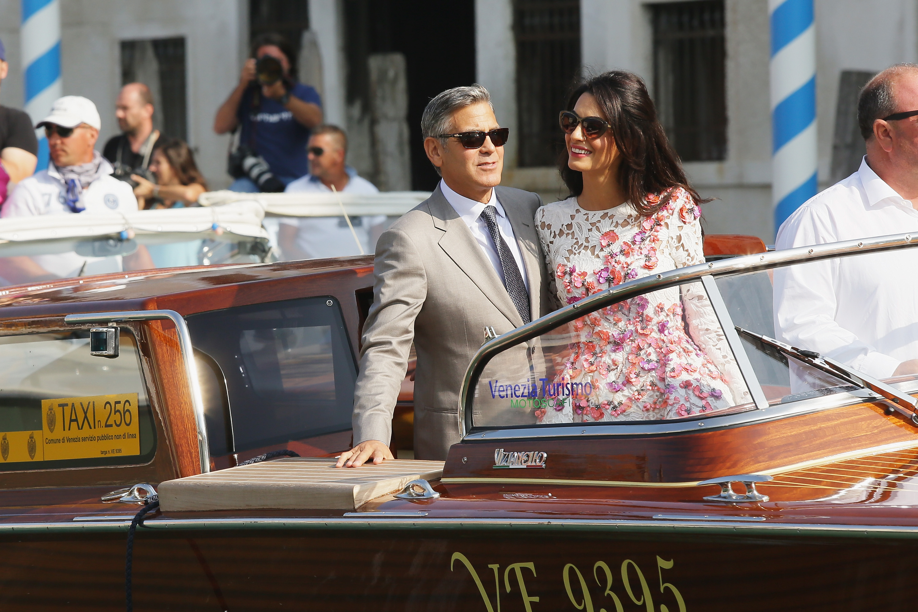 All the photos from George and Amal's wedding weekend