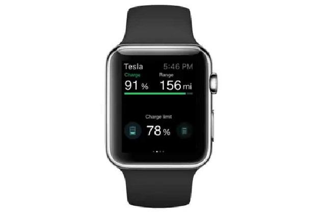 【ビデオ】テスラ「モデルS」をApple Watchから操作できるサードパーティー製アプリが早くも公開