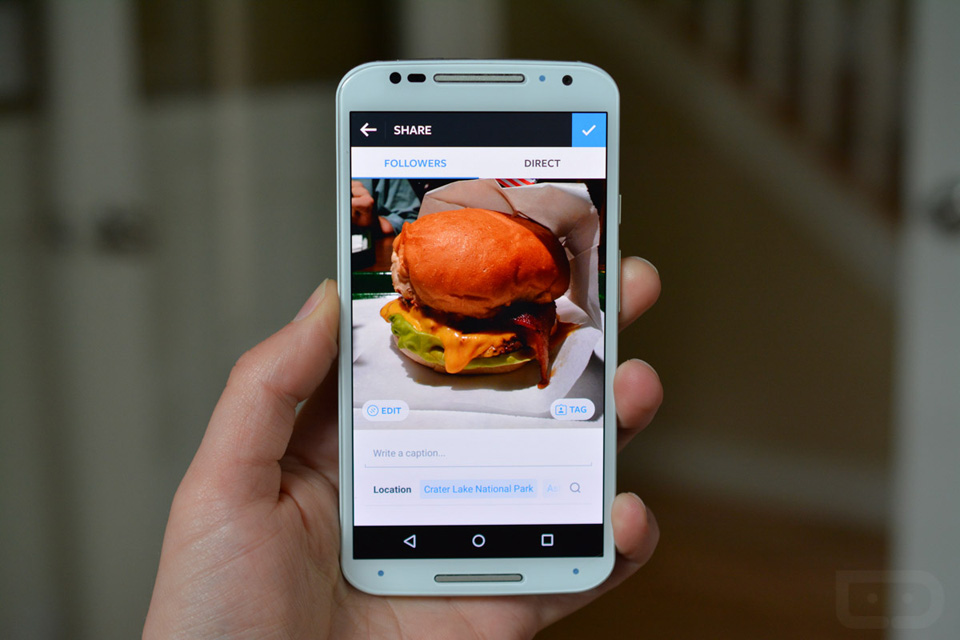 Instagram's new Android photo editor