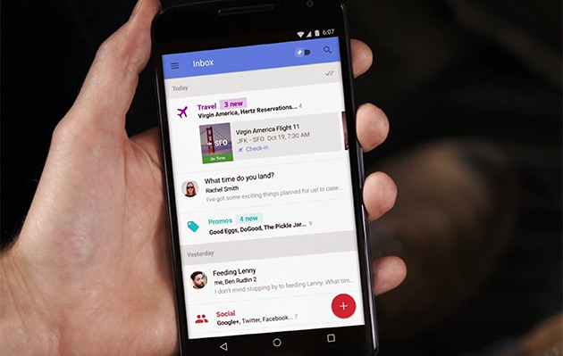 Got Google's new Inbox app? Now you can invite three friends!