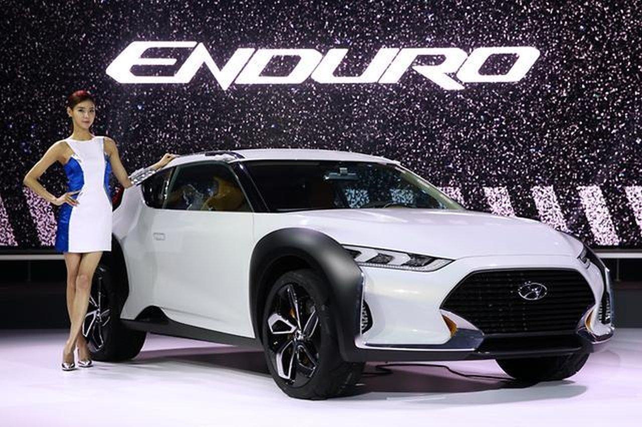 Seoul Motor show, Hyundai, Hyundai Enduro, SUV, Crossover, enduro, Hyundai HND-12, HND-12
