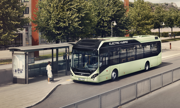 volvo 7900 electric hybrid bus