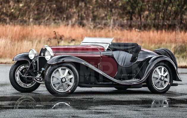 1931年製ブガッティ「タイプ55」の第1号車がオークションに出品 予想落札価格は5億円前後