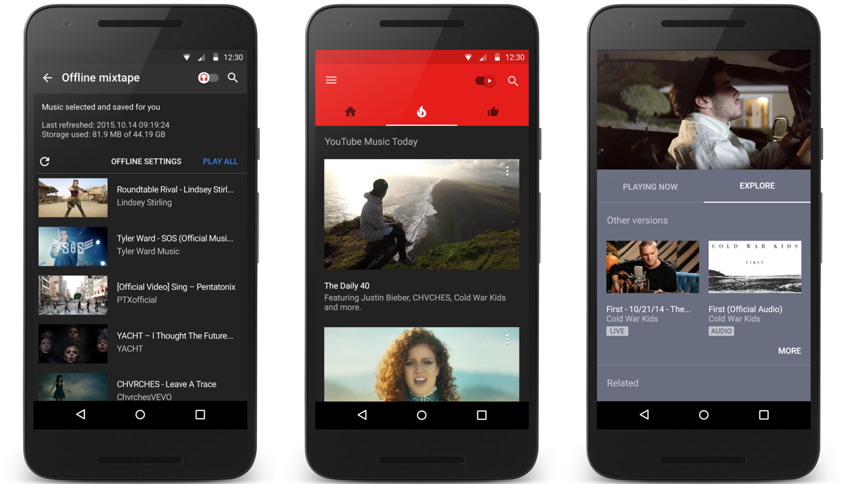 Youtube Music Isn T Perfect But It S Still Heaven For Music Nerds Engadget