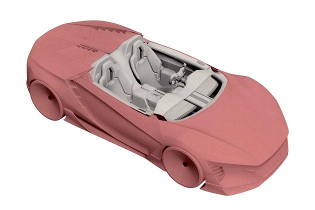 ホンダが欧州連合知的財産庁に登録したミドシップ・スポーツカーの意匠が明らかに!