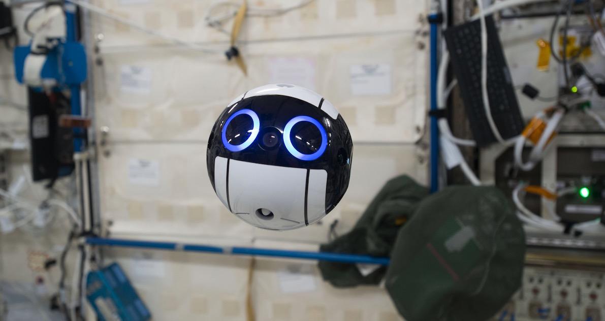 ISS bekommt supersüßen, japanischen Kamera-Bot