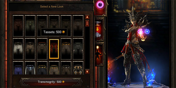 Diablo 3 Transmog
