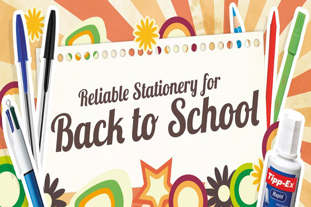 ​WIN a back to school stationery pack from BIC!