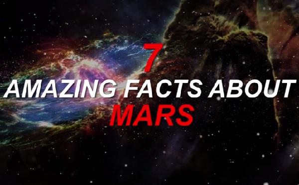 火星に関する驚くべき7つの事実