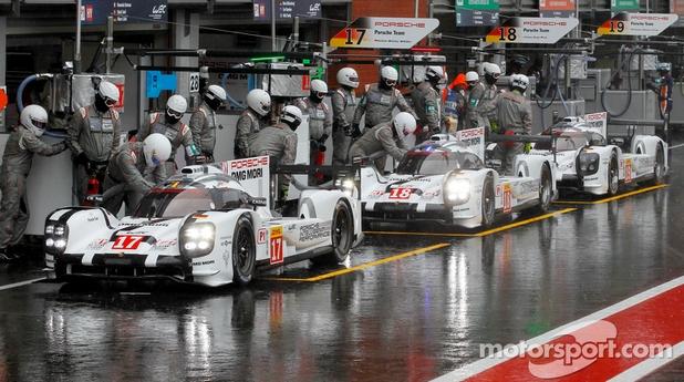 Porsche en tête sur les essais des 6H de Spa
