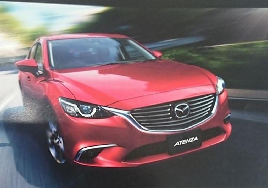 Mazda 6, mazda6, Mopf, Modellpflege, mazda Atenza, mazda6 facelift, mazda 6 facelift, leaked, durchgesickert