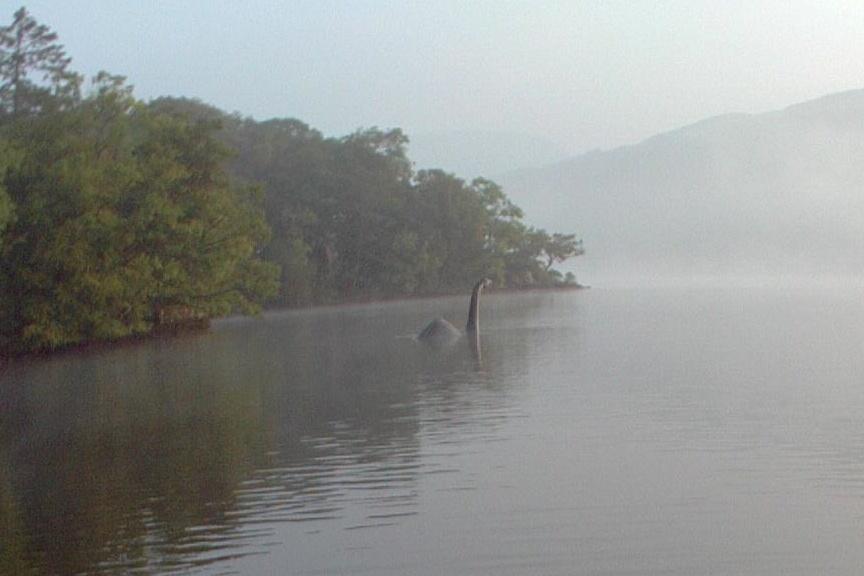 Loch Ness Monster in Lake Windermere?