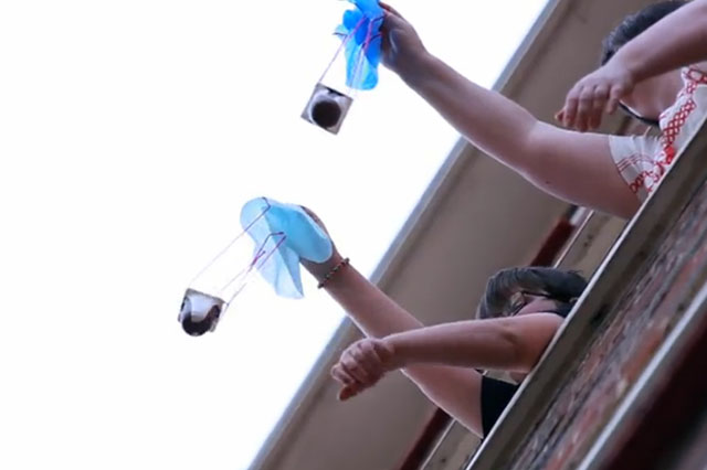 science how to make homemade parachutes