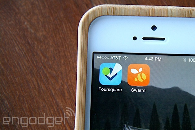 From Dodgeball to Swarm, Foursquare seeks to move beyond the check-in