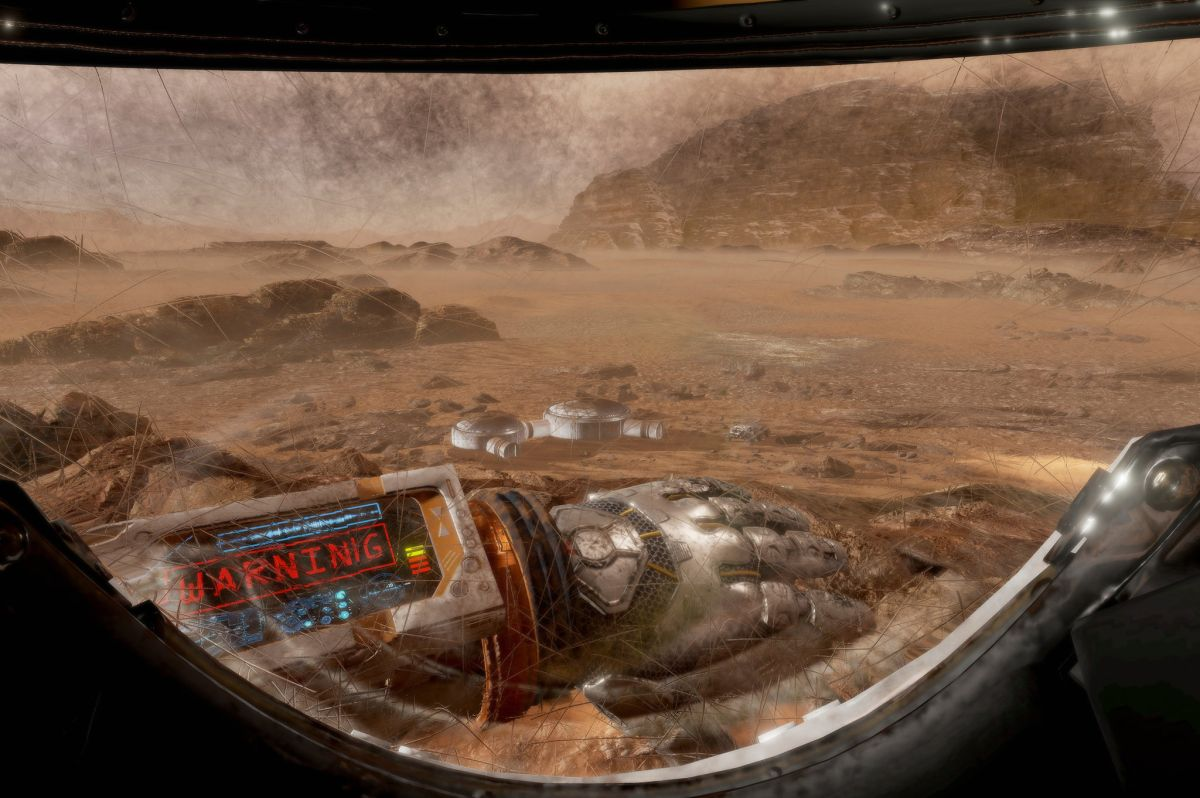 'The Martian VR' teaser flies Gear VR owners to the planet's surface