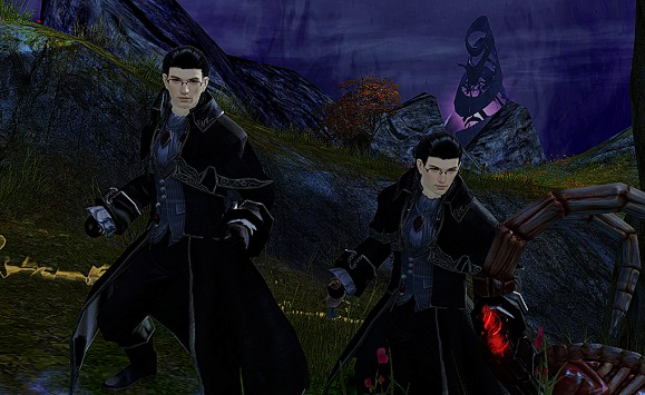 I'm a Necromancer, not a Mesmer. I have no idea how this happened. Maybe I'm dual-classing. You'll never know.