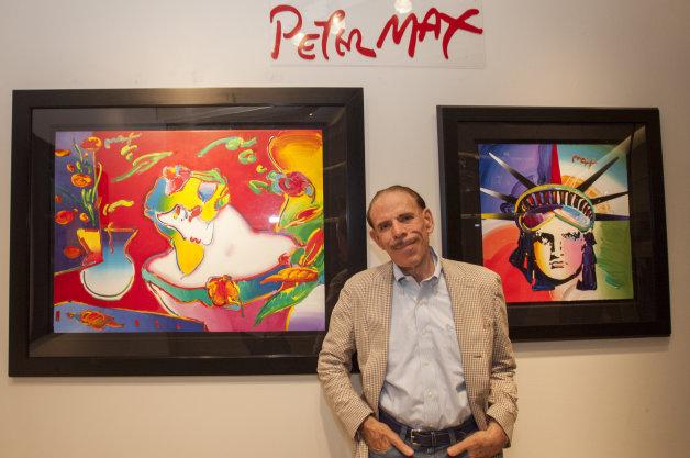 米画家ピーター・マックス氏のシボレーコレクションが、オークションに出品(ビデオ付き)