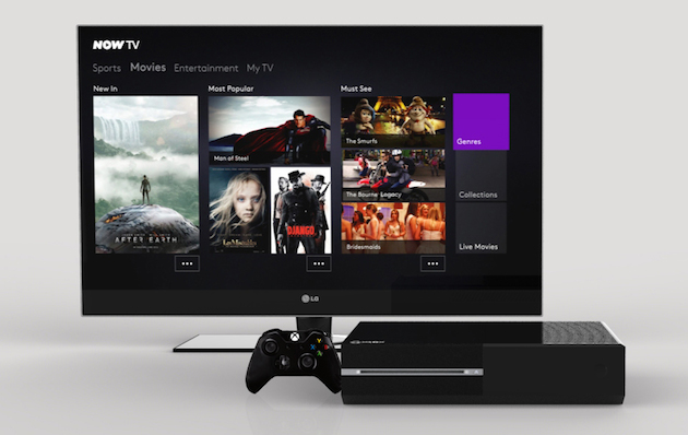 Sky's Now TV streaming app comes to the Xbox One