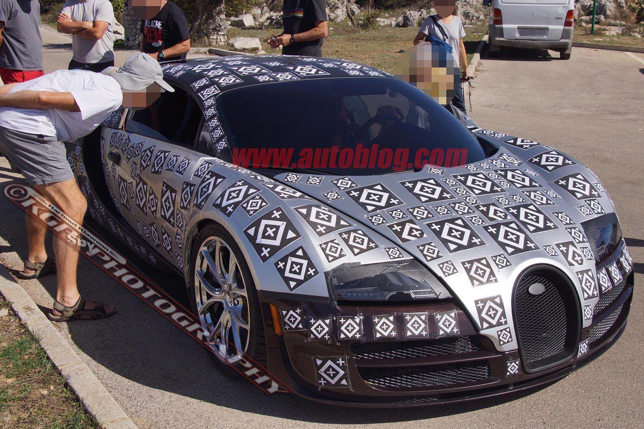 Erste Bilder vom Bugatti Chiron