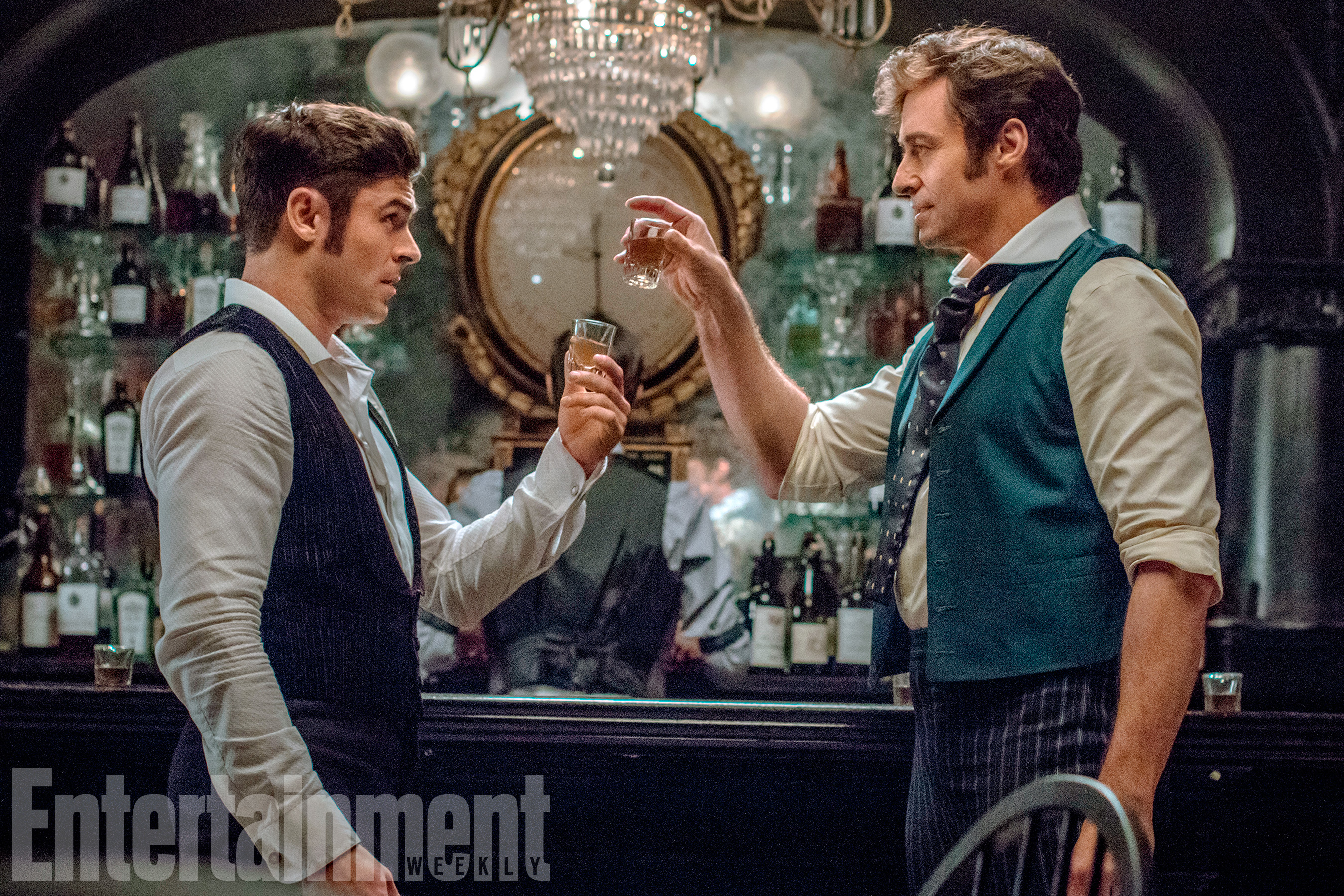 The Greatest Showman (2017)Zac Efron and Hugh Jackman