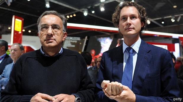 Sergio Marchionne prépare sa sortie du groupe Fiat
