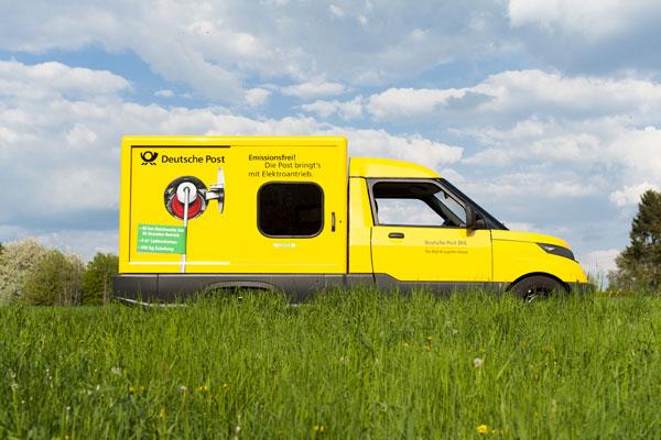 Streetscooter: Deutsche Post produziert E-Autos in Serie