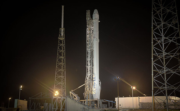 SpaceX lands its rocket on a barge, but a reusable Falcon 9's still far off