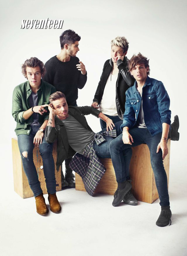 one direction seventeen magazine 2014