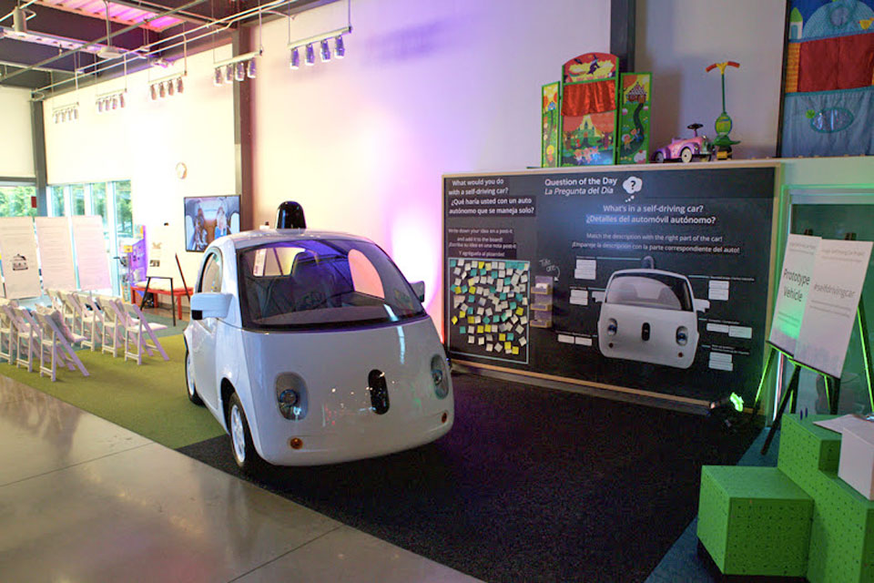 Google's custom self-driving car comes to Austin