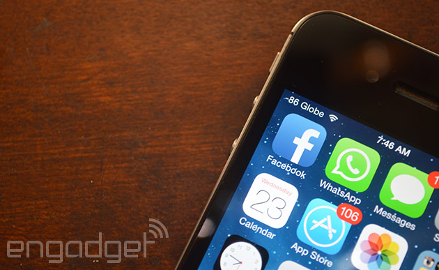 WhatsApp's voice calls arrive on iOS
