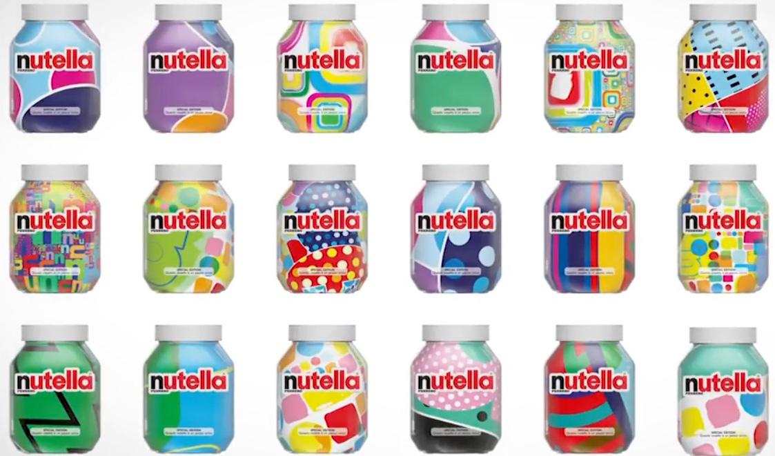 Algorithmus designt 7 Millionen verschiedene Nutella-Gläser