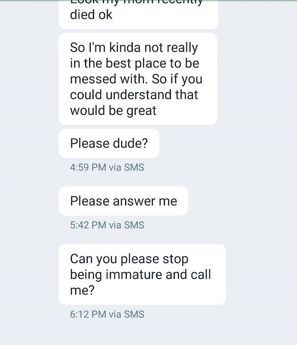 Rejected Dude On Tinder Absolutely Loses His Mind On Girl