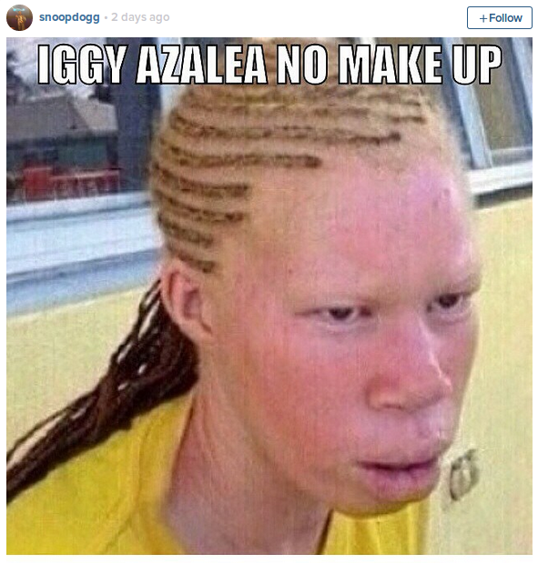 Snoop Dogg mocks Iggy Azalea