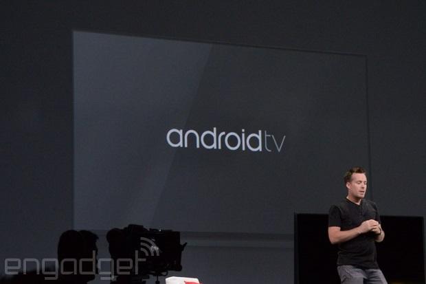 速報:Google、テレビプラットフォーム Android TV 発表。ゲーム機としても販売