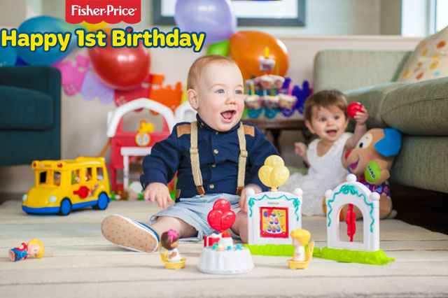 WIN a bundle of Fisher-Price toys to celebrate Prince George's first birthday!