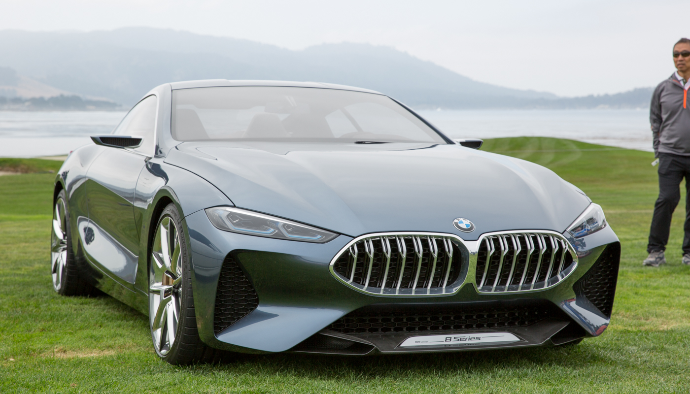 BMW's redesigned 8 Series is cleaner, more aggressive