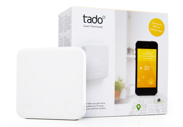 tado adds physical controls to its second gen smart thermostat. Black Bedroom Furniture Sets. Home Design Ideas