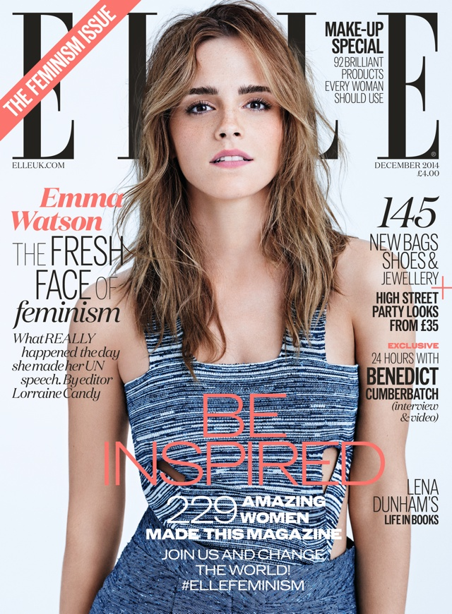 Emma Watson wows on the cover of Elle UK's feminism issue