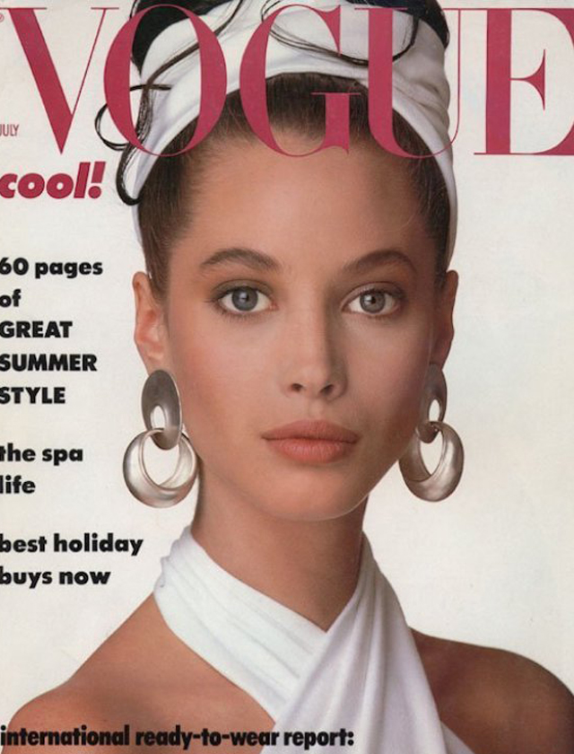 Vogue Christy Turlington